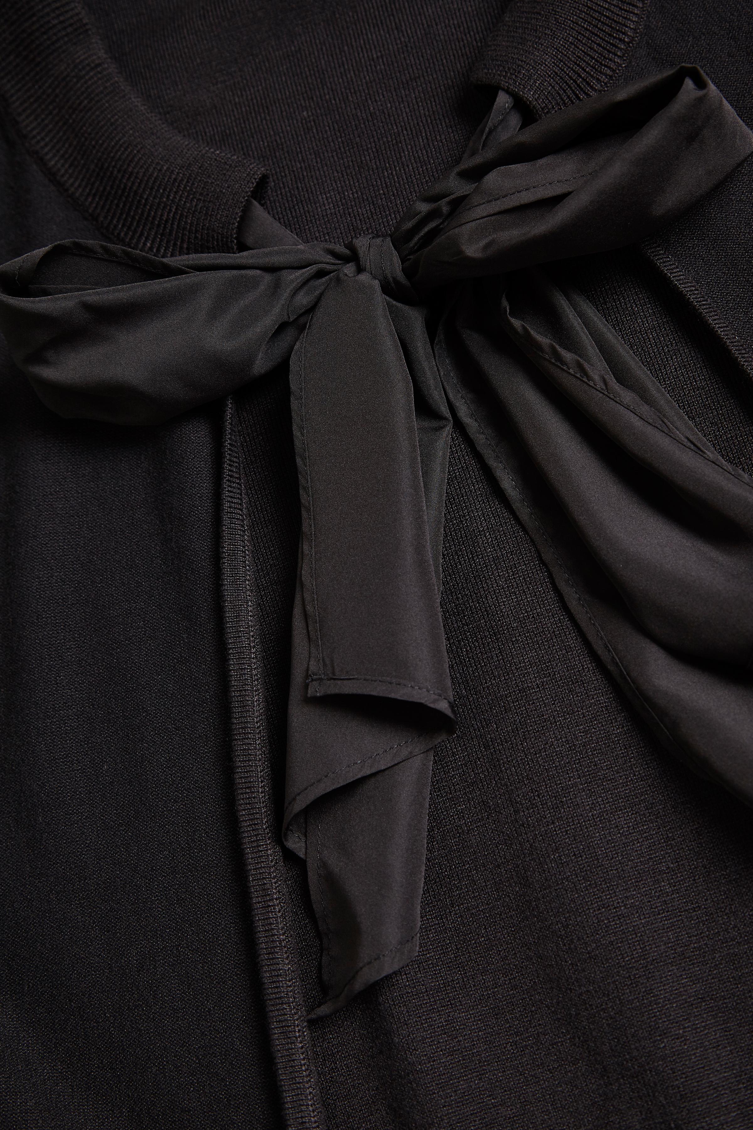 Black Strikcardigan – Køb Black Strikcardigan fra str. XXS-XXL her
