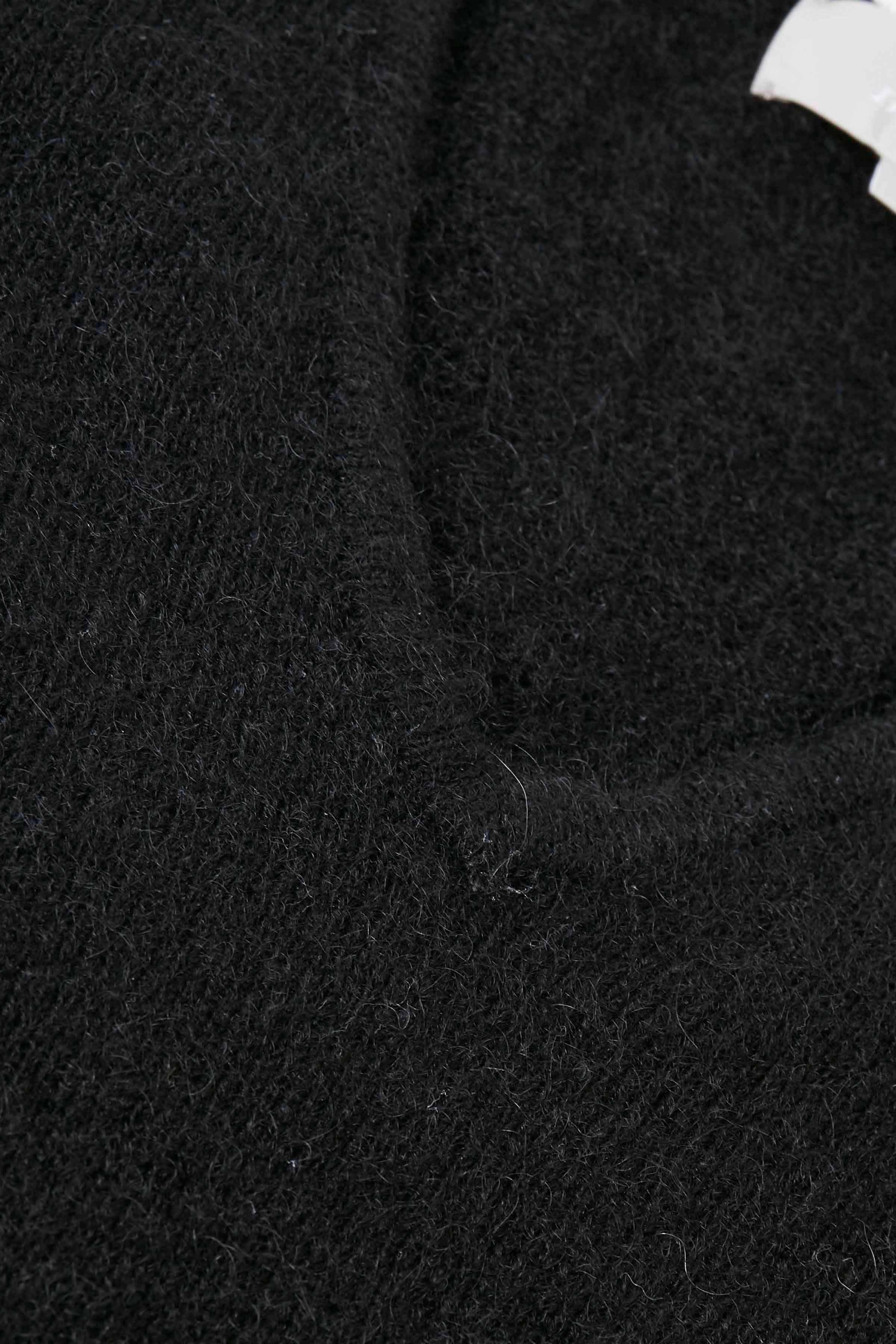 Black Strikpullover – Køb Black Strikpullover fra str. S-L her