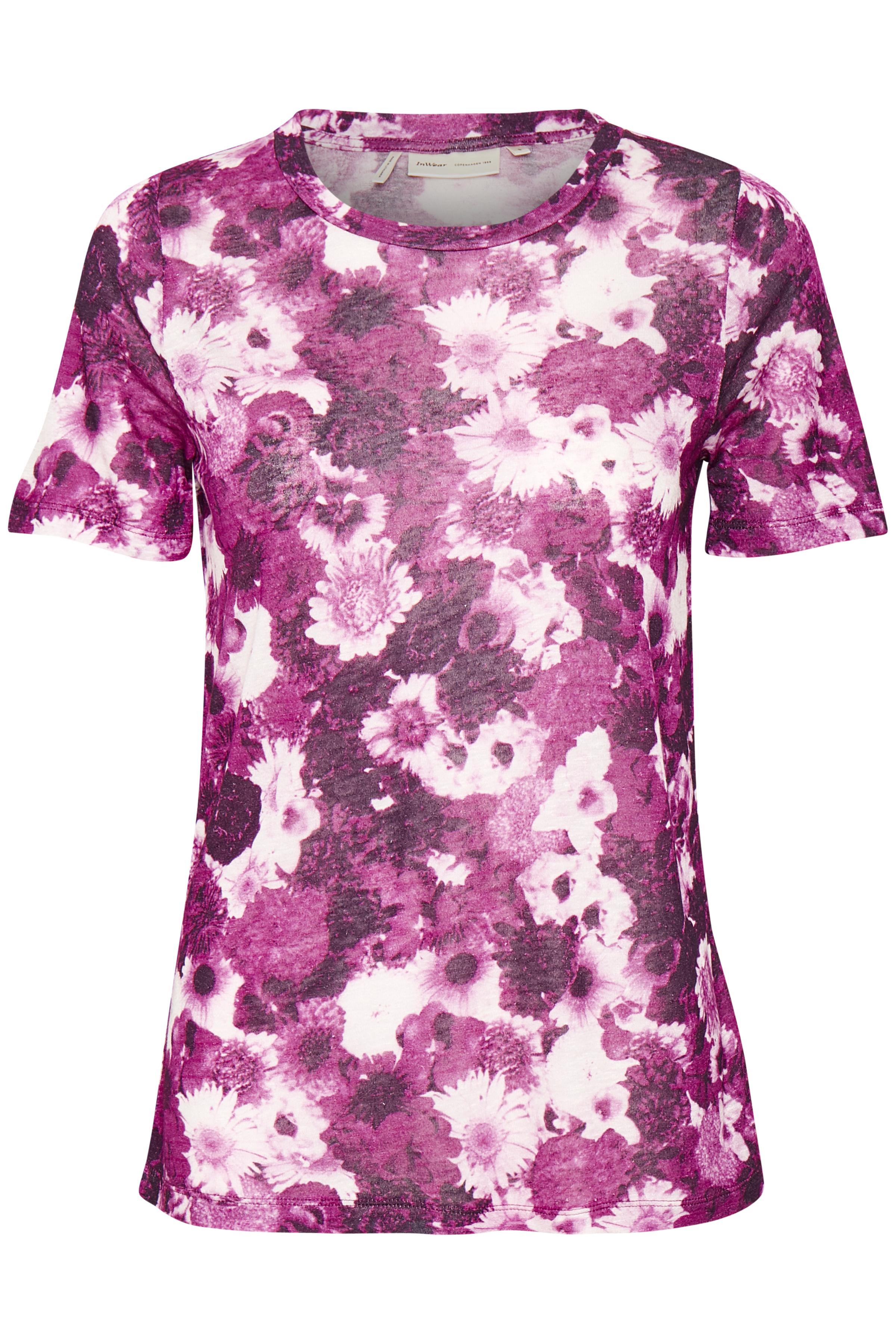 Cerise Pink Flower Collage