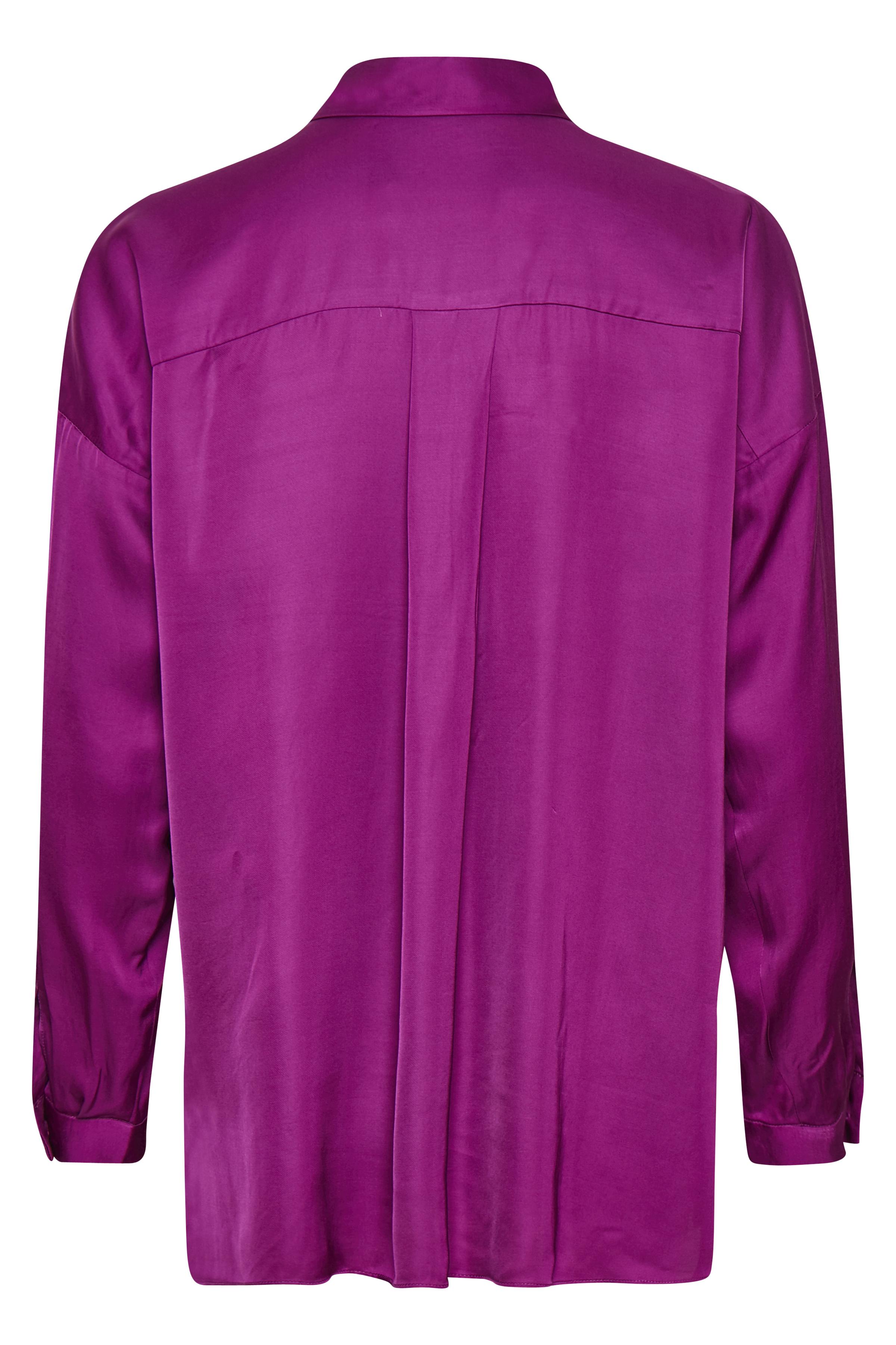 Cerise Pink Langærmet skjorte – Køb Cerise Pink Langærmet skjorte fra str. 32-44 her