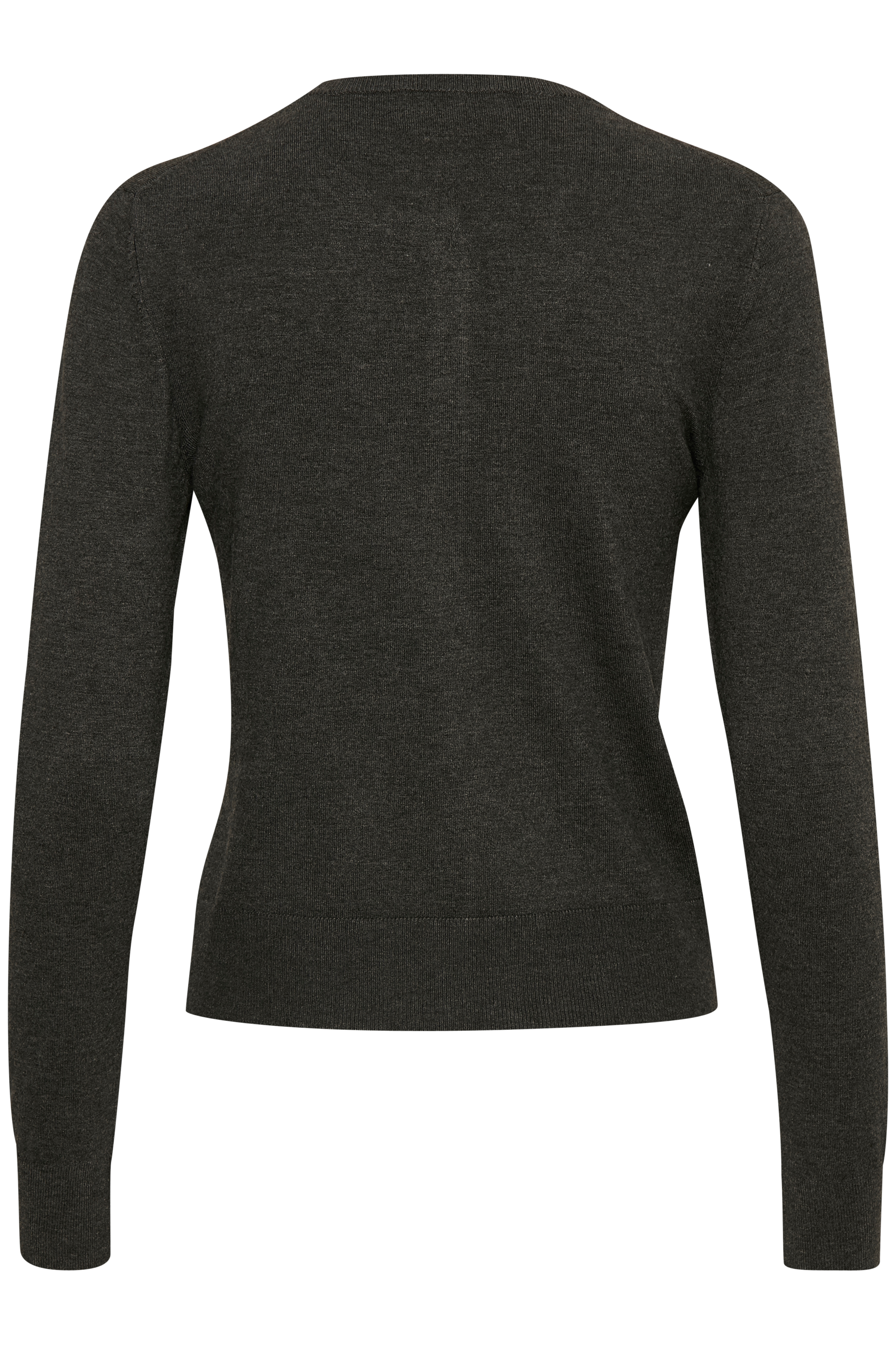 Dark Grey Melange Strikcardigan – Køb Dark Grey Melange Strikcardigan fra str. S-L her