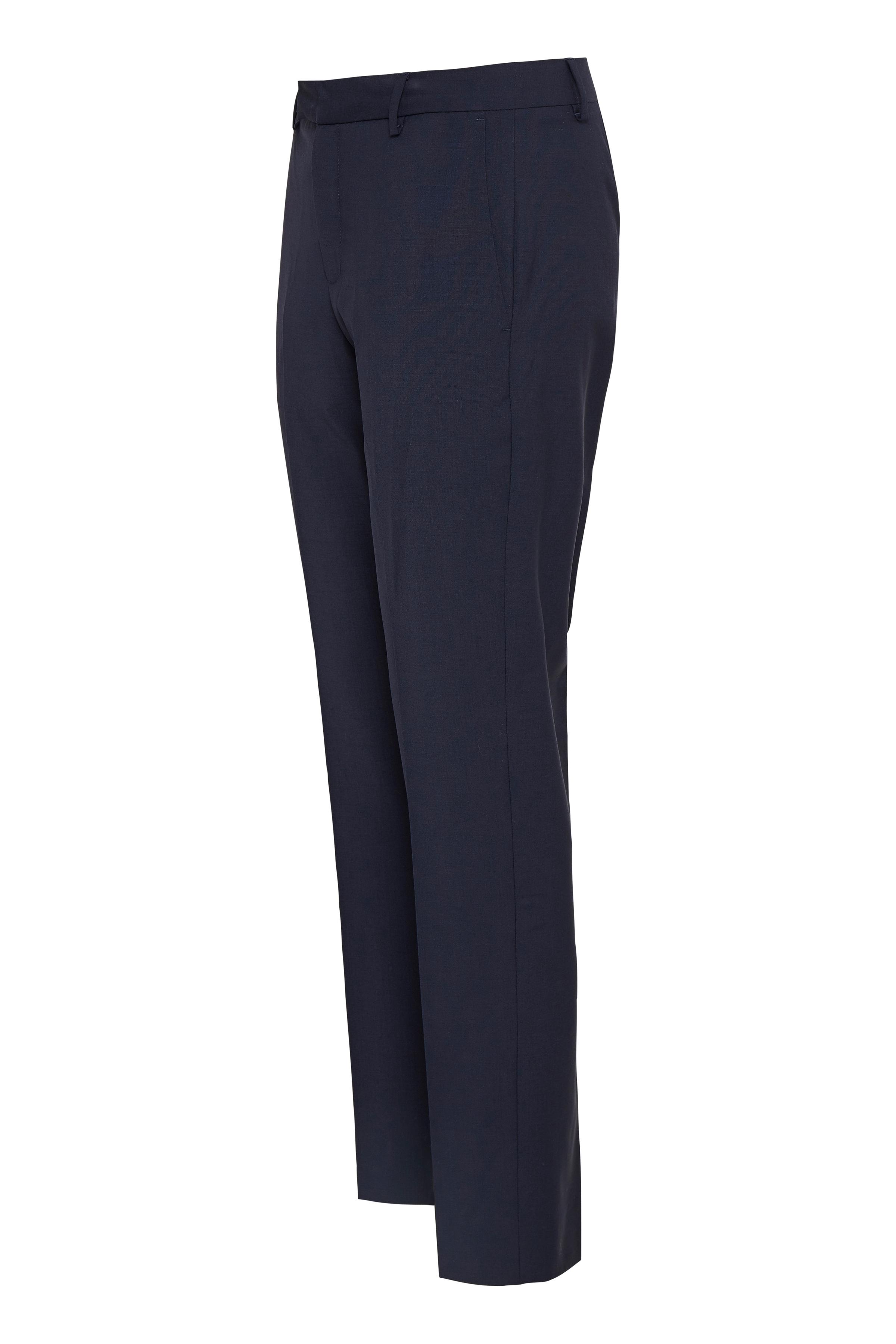 Marine Blue Pants Suiting – Køb Marine Blue Pants Suiting fra str. 32-46 her