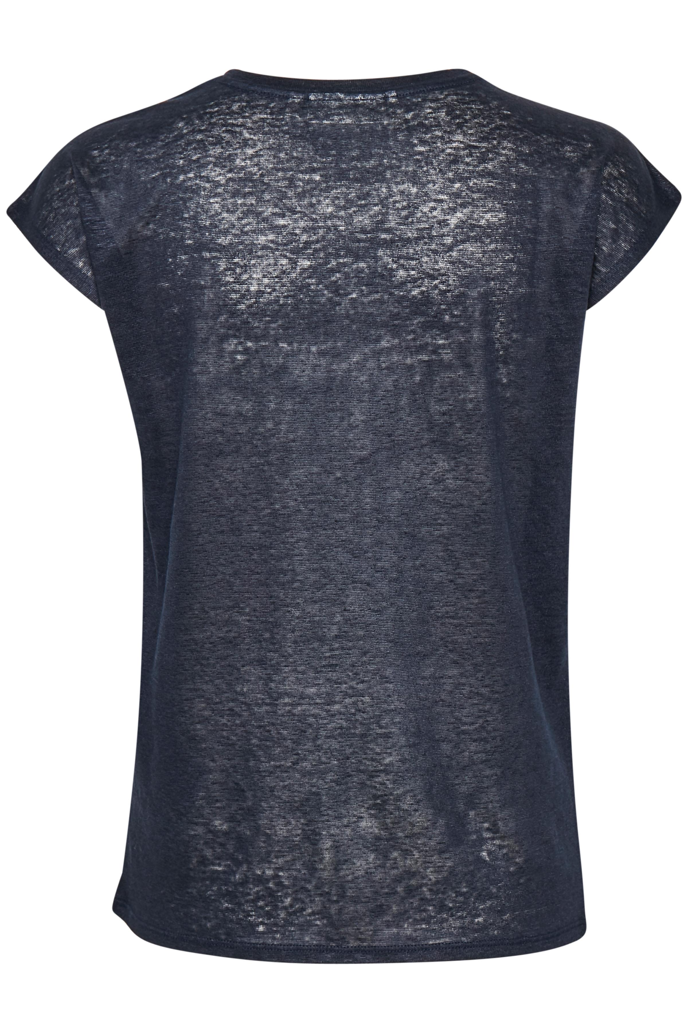 Marine Blue T-Shirt – Køb Marine Blue T-Shirt fra str. S-L her