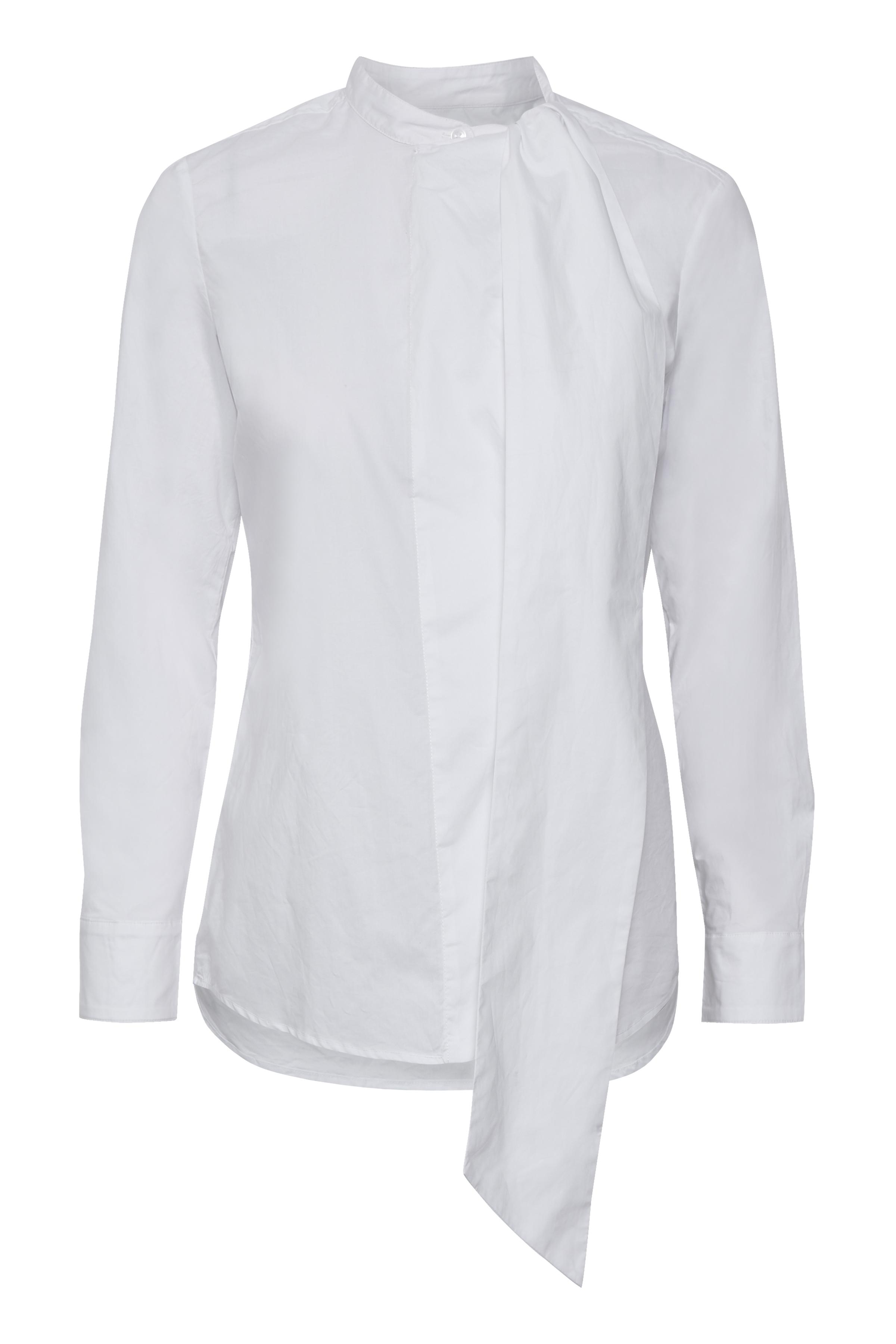 Pure White Langærmet skjorte – Køb Pure White Langærmet skjorte fra str. 34-42 her