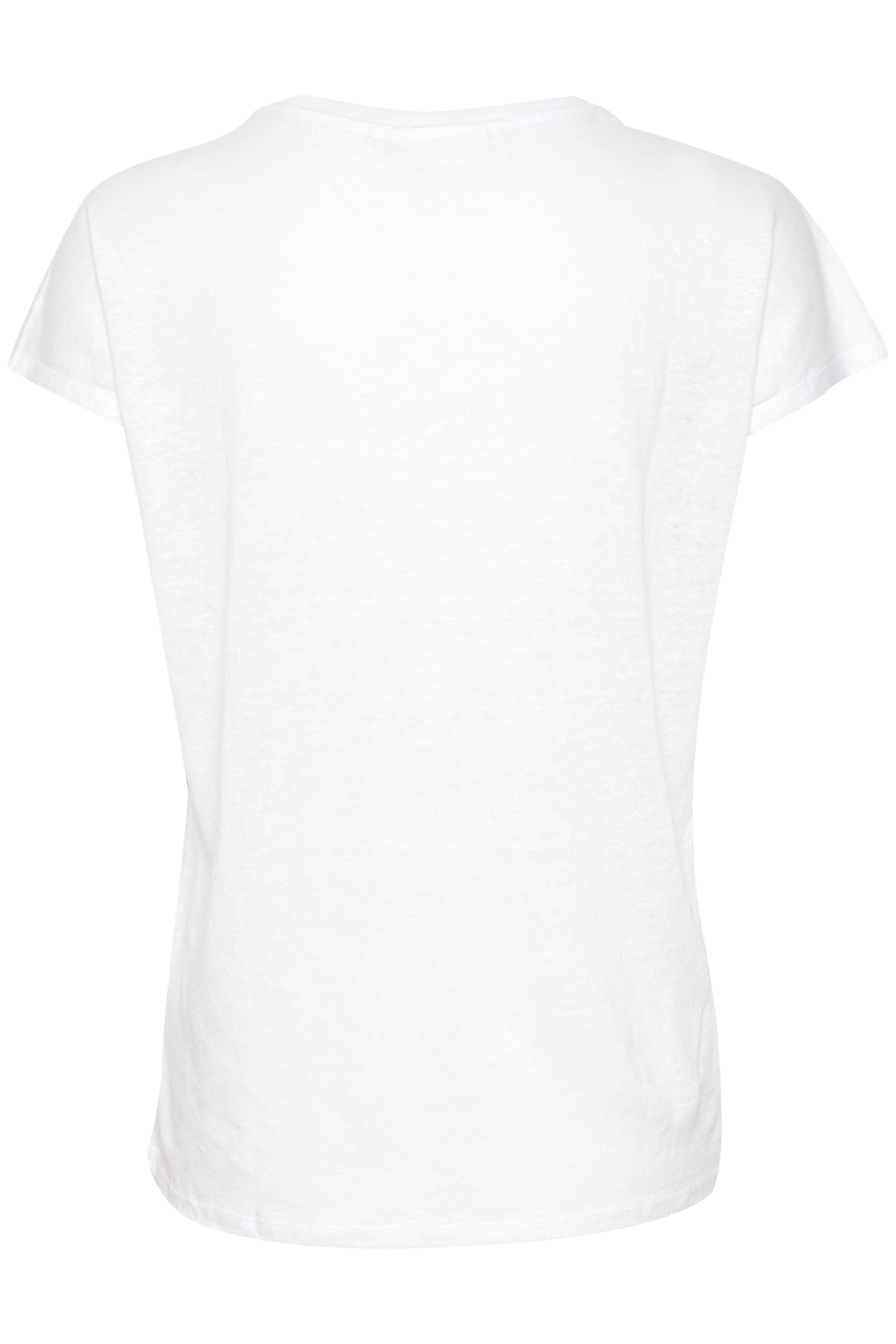 Pure White T-Shirt – Køb Pure White T-Shirt fra str. S-L her