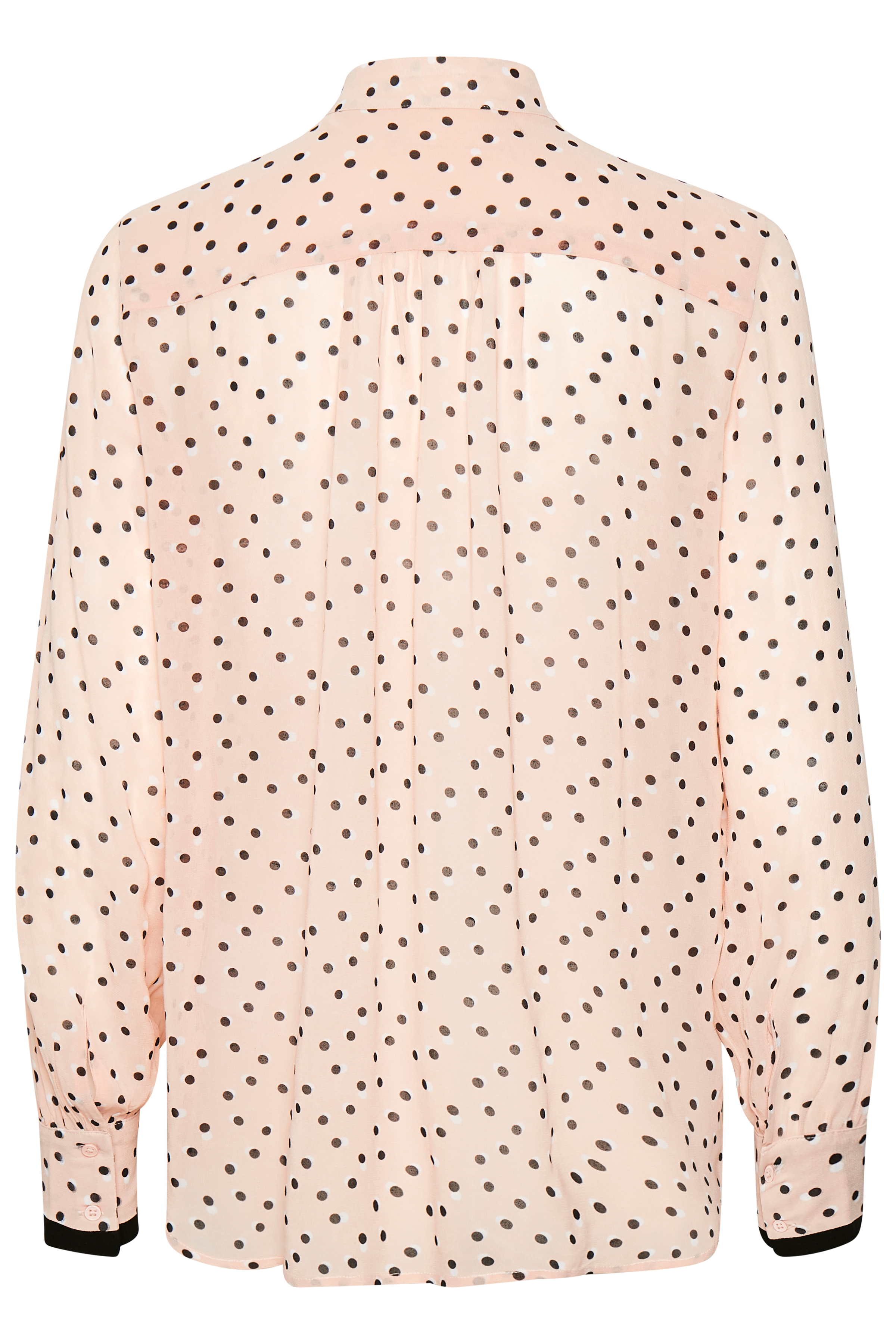 Rose Dust Double Dot Langærmet skjorte – Køb Rose Dust Double Dot Langærmet skjorte fra str. 32-42 her