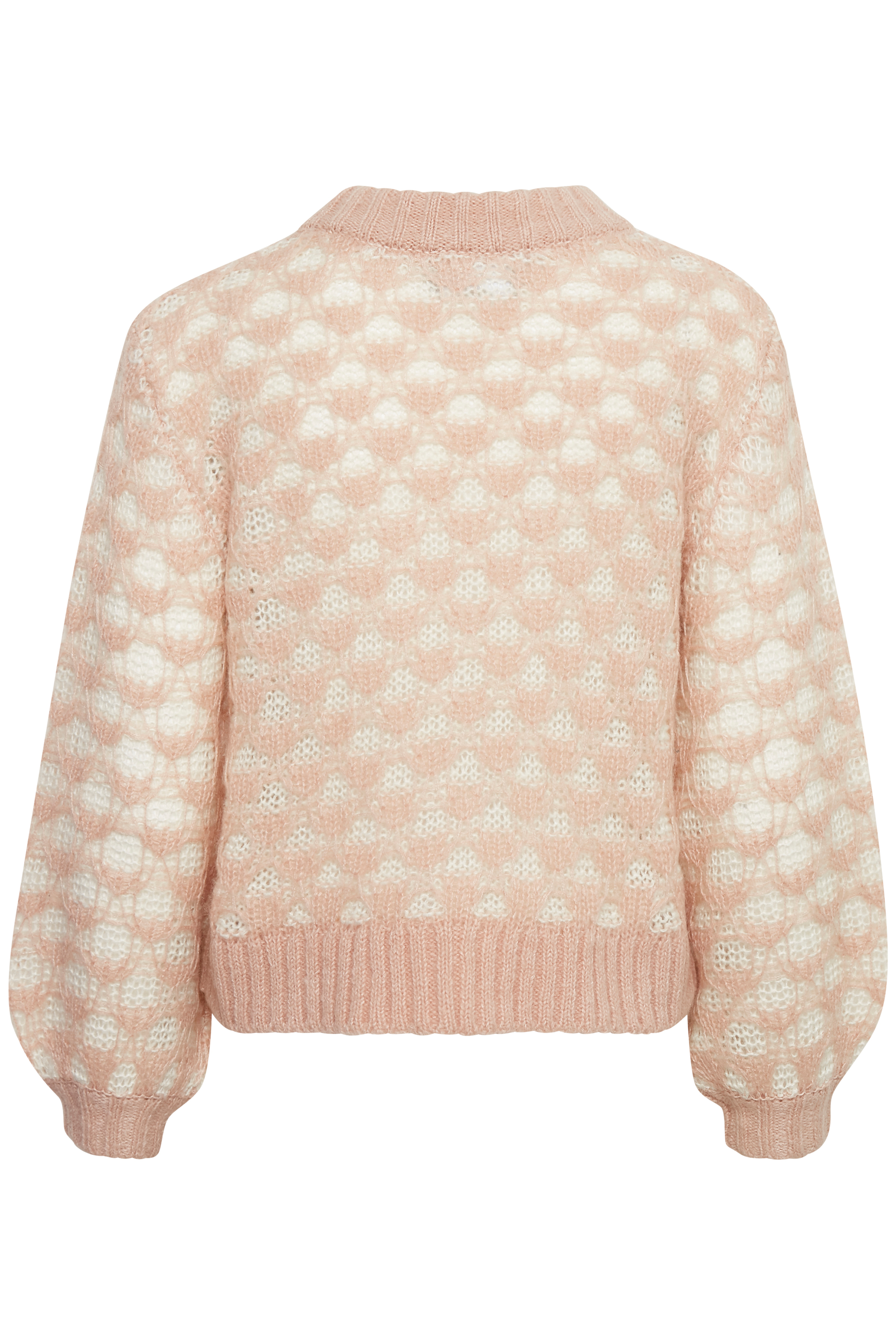 Rose Dust / White Smoke Strikpullover – Køb Rose Dust / White Smoke Strikpullover fra str. XS-XL her
