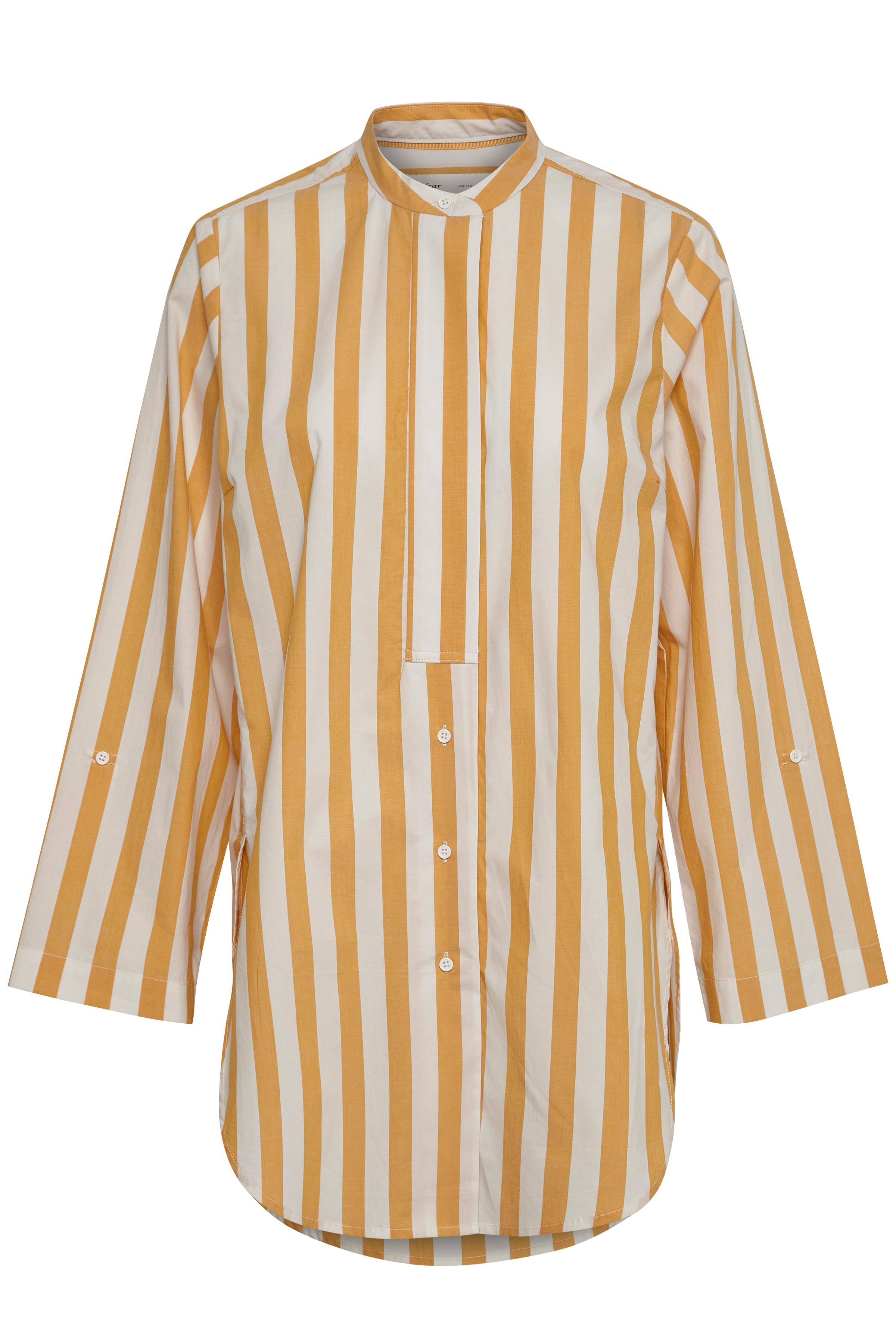 Sunny Yellow Blocking Stripe