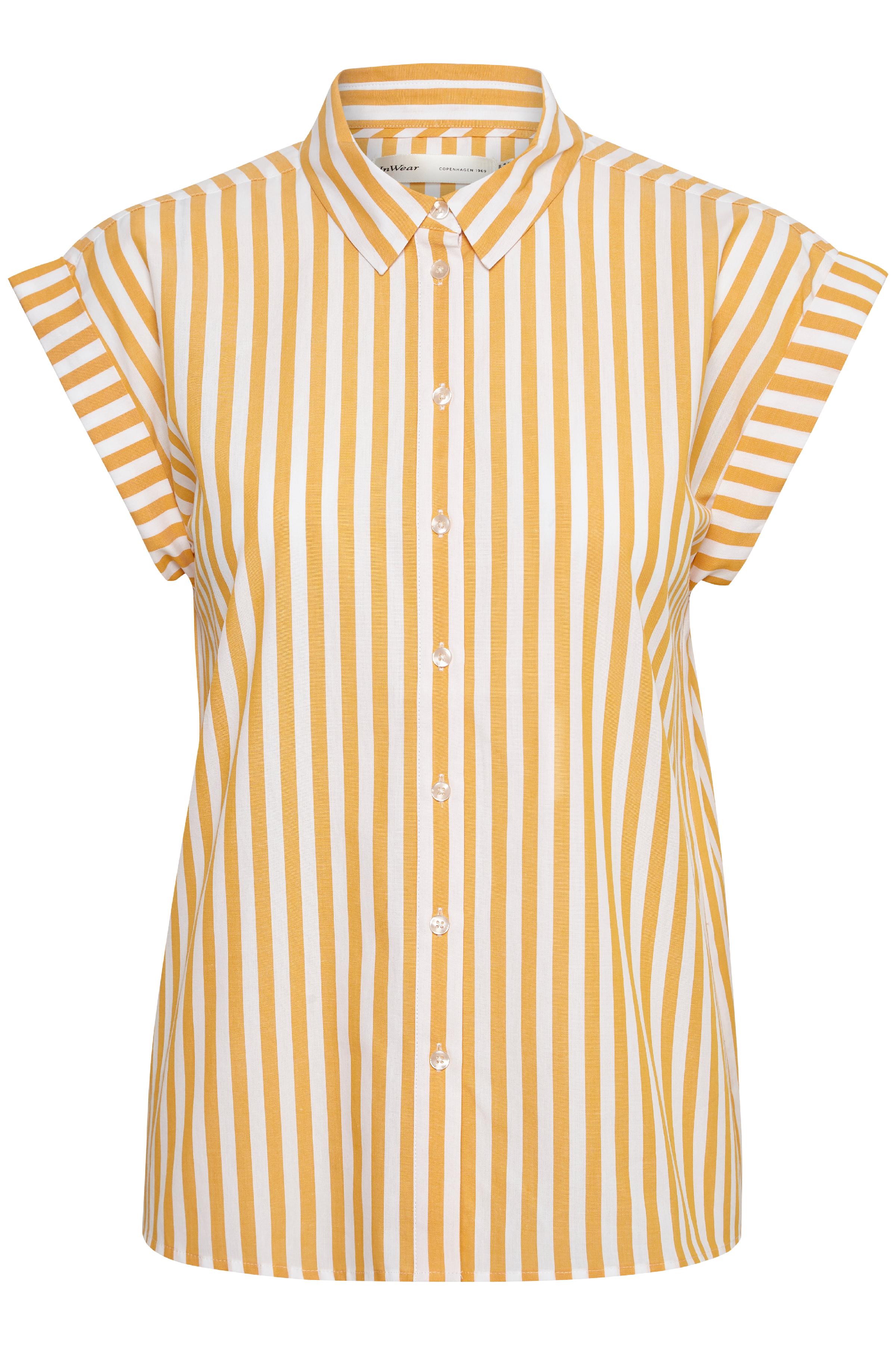 Sunny Yellow Skjorte – Køb Sunny Yellow Skjorte fra str. 32-44 her